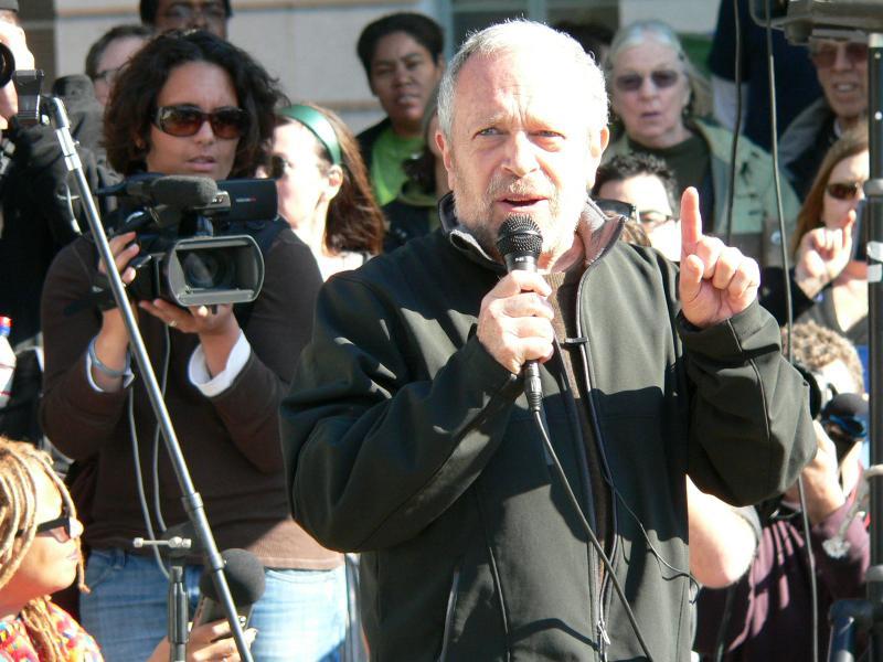 Robert Reich speaks at Occupy LA