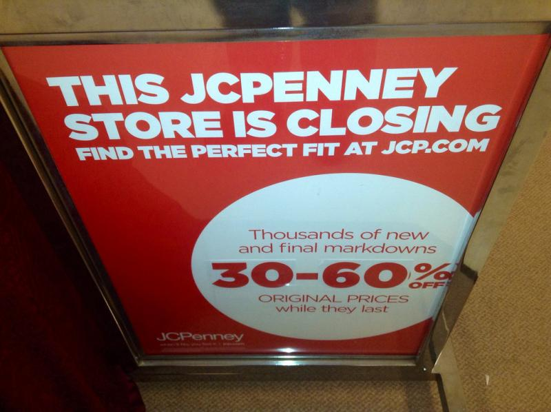 This Connecticut store is one of the 33 that JCPenney closed earlier this year. The Bellevue, Wash., location is also about to close.