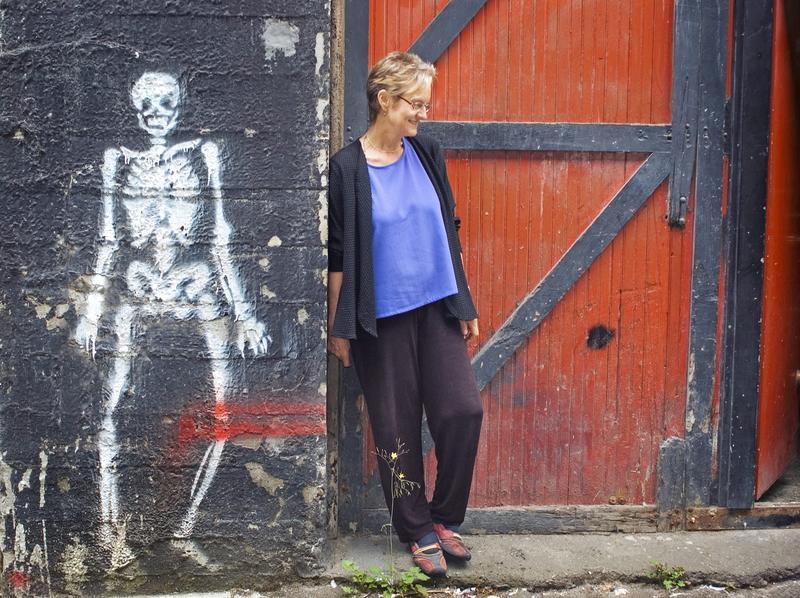 Poet Heather McHugh.