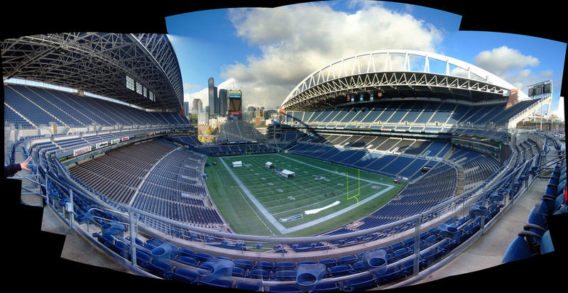 Century Link Field, Seattle.
