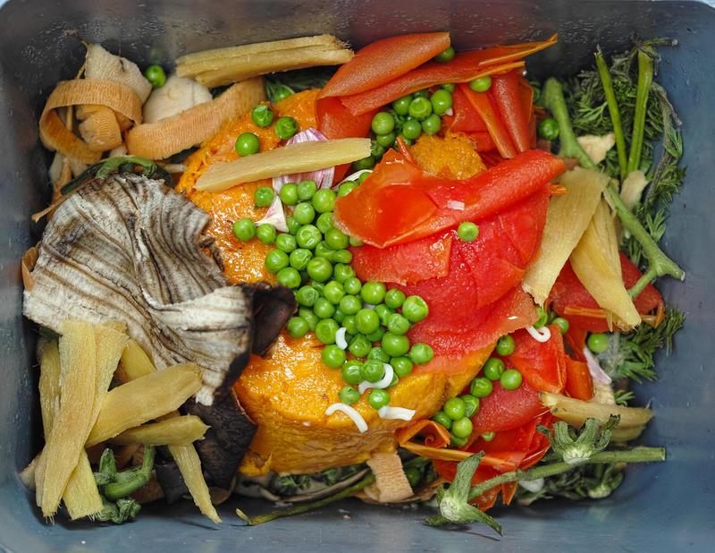 Food compost.