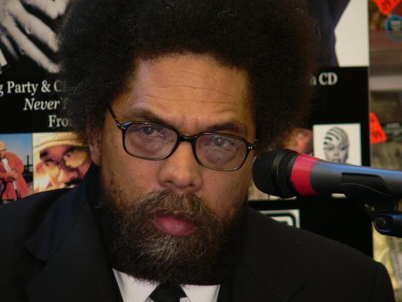 Dr. Cornel West.