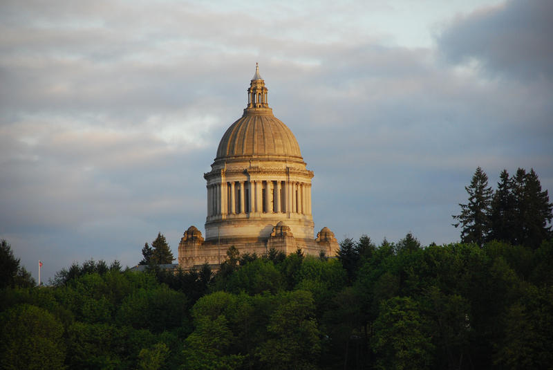 Washington State Legislature in Olympia.