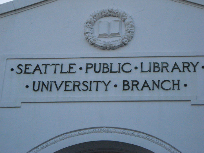 Seattle Public Library's University District branch.