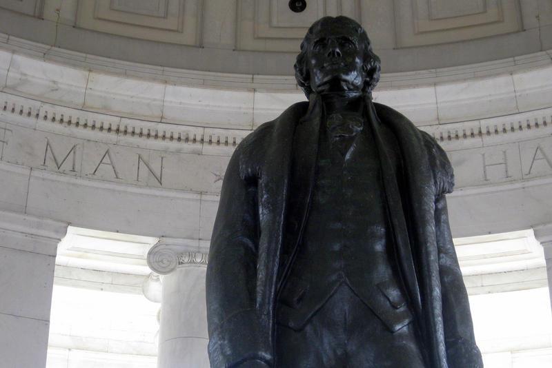 Thomas Jefferson memorial in Washington, D.C.
