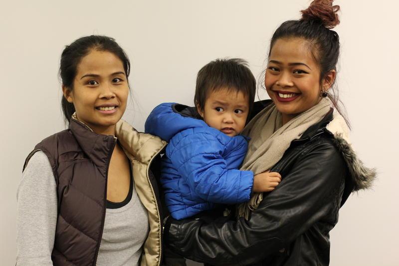 Tara Keo is a single mother to Sokinna, 16, and Kayden, 2.