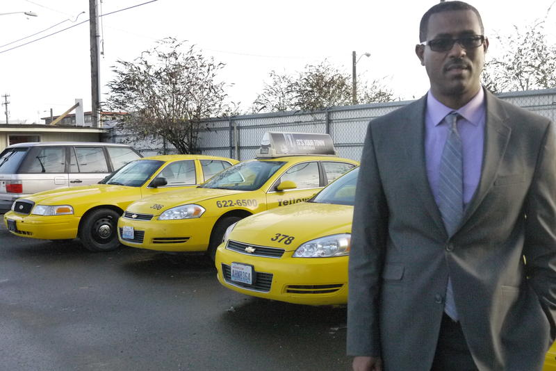 Amin Shifow, general manager of Puget Sound Yellow Cab, said he wants to start a hotline for drivers to report harassment and other potential crimes against them.