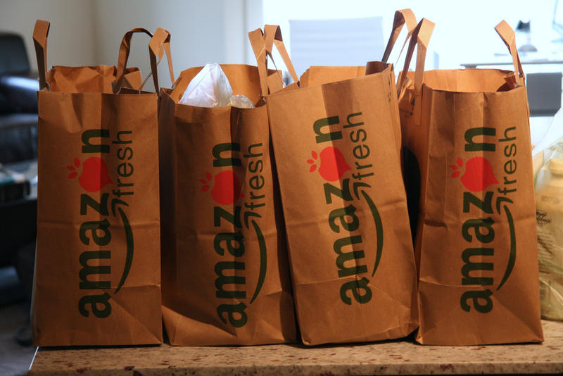 Amazon Fresh is one the big players in the trend of delivery-based grocery shopping.