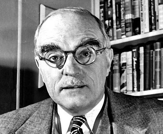 Thornton Wilder, the novelist. Storyteller Gary Heyde wrote him letters before his death.