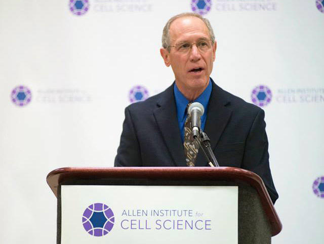 Rick Horwitz, executive director of the Allen Institute for Cell Science, at a press conference on December 8, 2014, in Philadelphia.