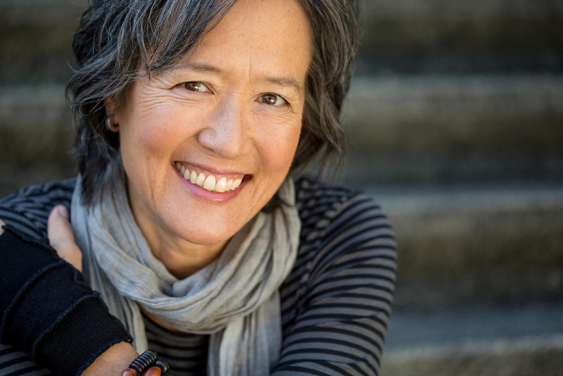 Author Ruth Ozeki.