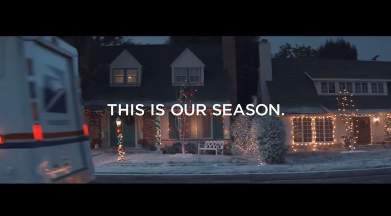 USPS unveiled a marketing campaign this year in advance of the hectic holiday delivery season.