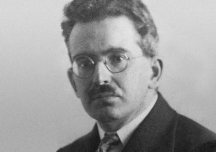 Walter Benjamin in 1928.