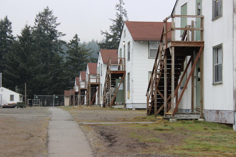 The barracks in the controlled monitoring area at JBLM are usually used for housing summer ROTC programs.