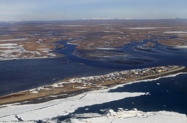 Scientists believe that Kivalina, population 457, will be the first casualty of climate change in the U.S., and that it will be inundated by sea water by 2025.