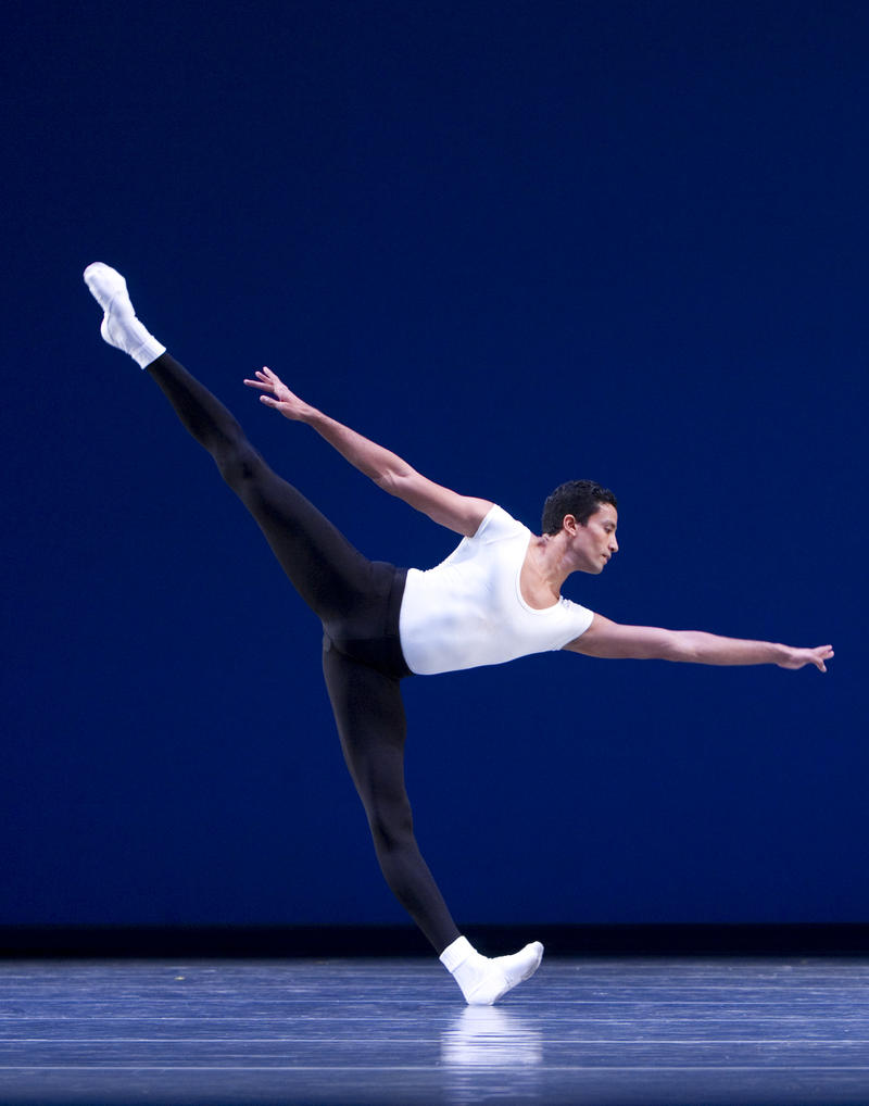 Karel Cruz, principal dancer at the Pacific Northwest Ballet, ended up in Seattle after being rejected by the Cuban National Ballet for being too tall.