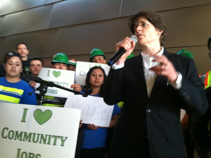 Seattle City Council member Sally Clark