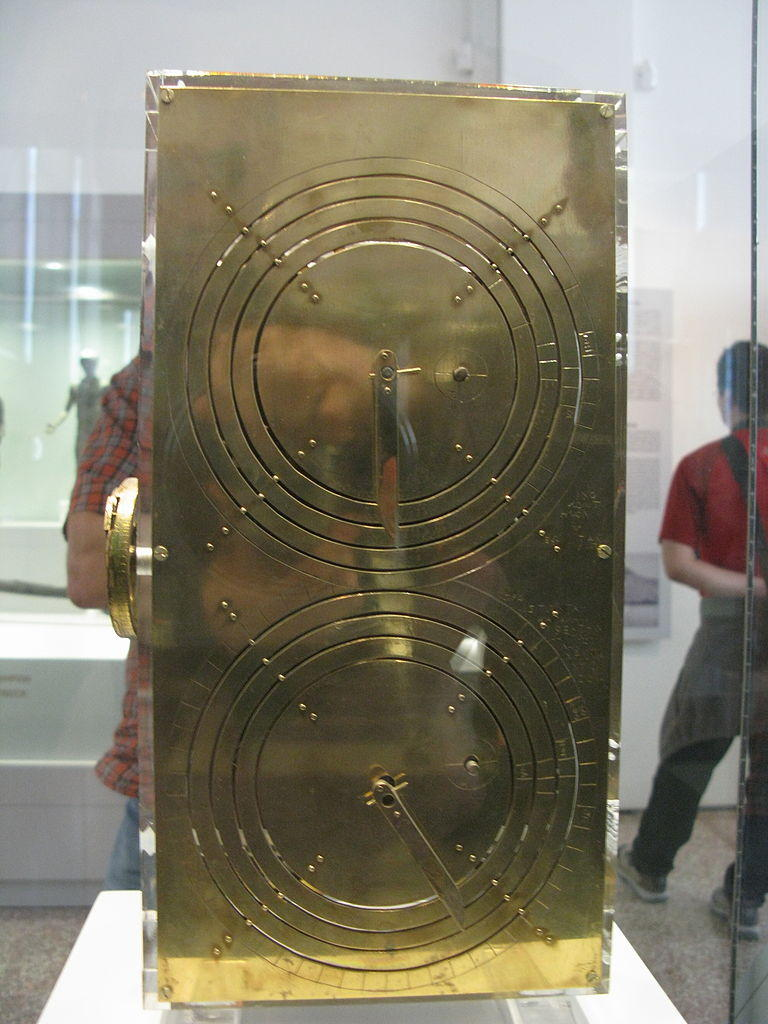 A reconstructed Antikythera Mechanism