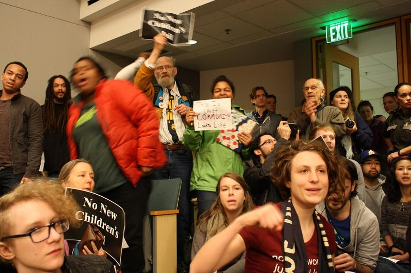 Not your average County Council meeting: civil rights advocates sung, danced and filibustered, but failed to derail a proposed juvenile detention center.