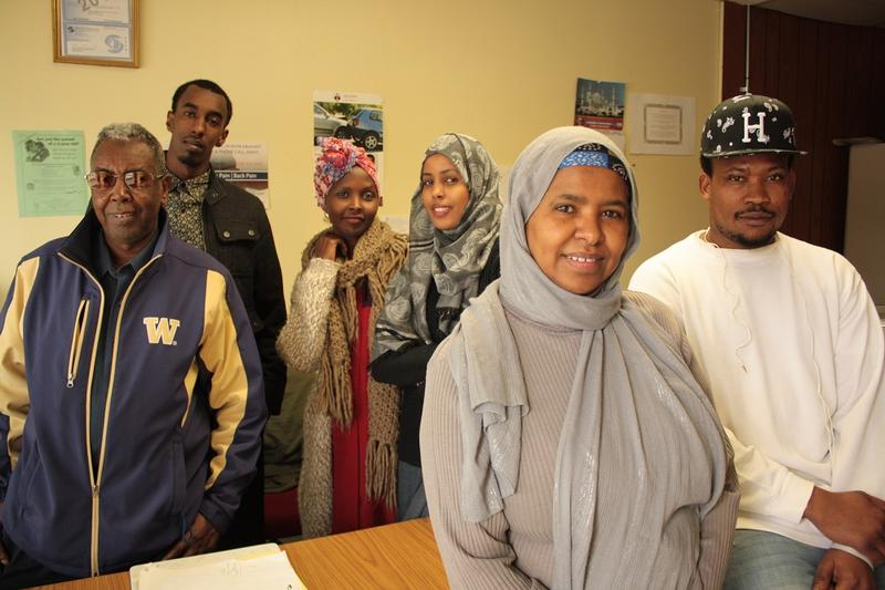 Sahra Farah and volunteers at the Somali Community Center hope development around Rainier Beach station will bring jobs to the neighborhood, where she says young people struggle to find employment.