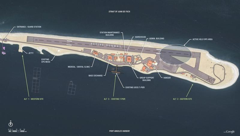 Description of Proposed Action and Alternatives, Pier and Support Facilities for TPS at USCG AIRSTA/SFO Port Angeles, WA