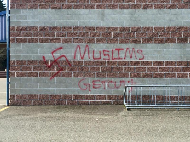 Vandalism at Skyview Junior High in Bothell