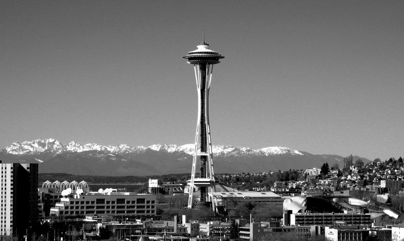 File photo of Seattle skyline.