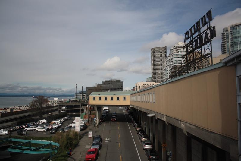 The Pike Place Market will expand westward, toward the waterfront.