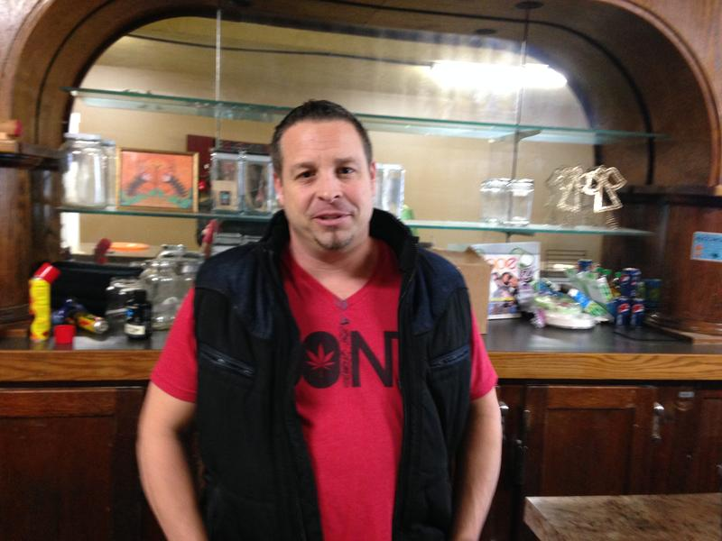 Shy Sadis operates medical marijuaan dispensaries and licensed retail stores. He supports moving medical marijuana into the state-licensed system.