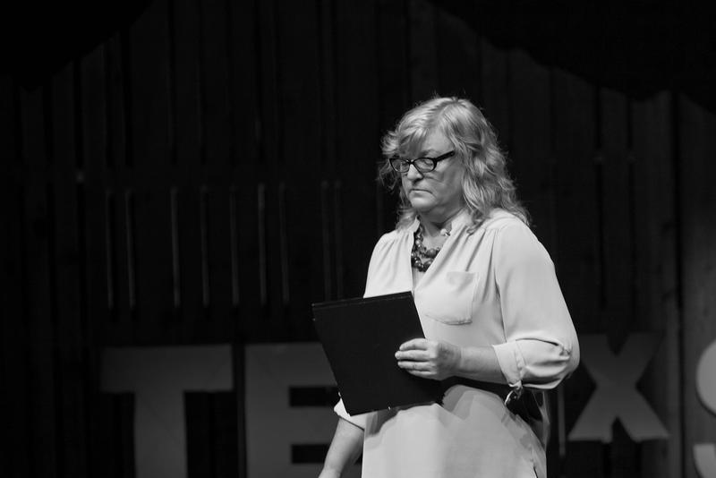 Cheryl Stumbo at TEDx Seattle in 2013.