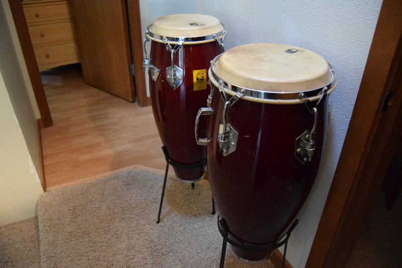 Musical instruments fill the house at reSTART, the inpatient digital addiction treatment program, but these drums outside the rooms are mostly used to wake