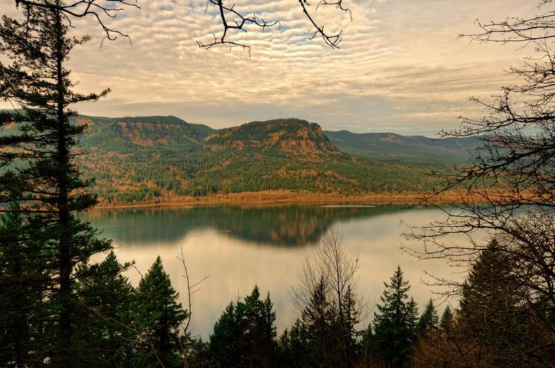 Columbia River Gorge.