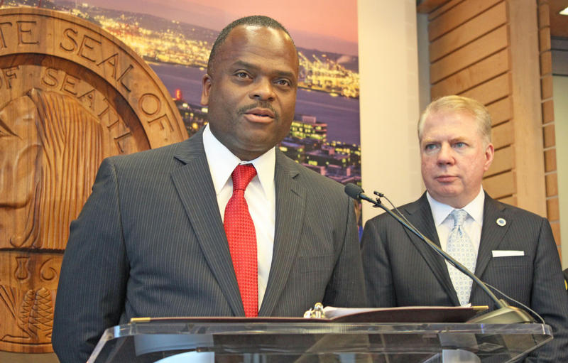 Harold Scoggins was nominated by Mayor Ed Murray for the role of Seattle's Fire Chief.