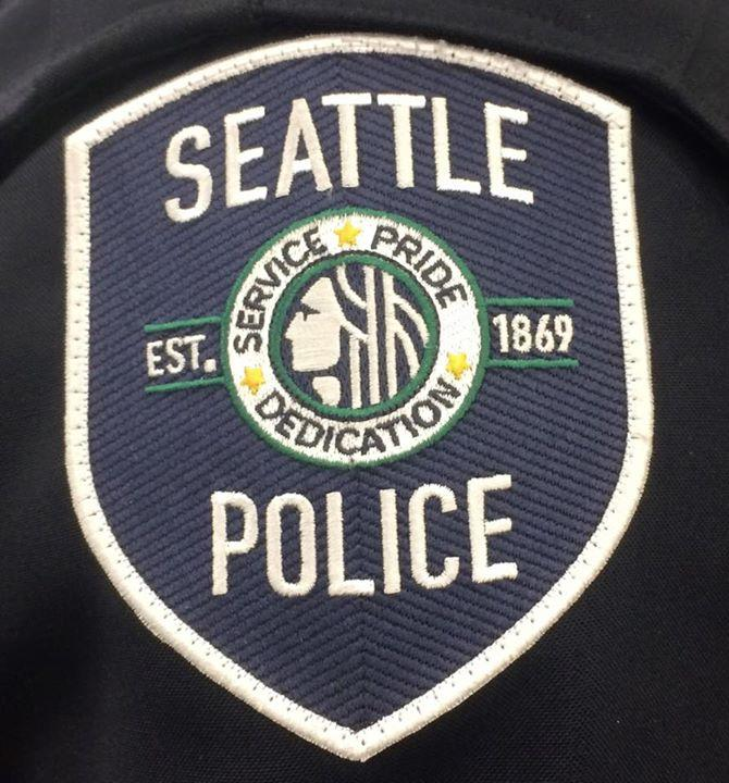 Seattle Police patch.