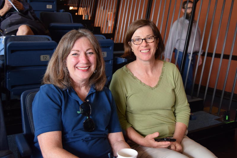 Melinda Jankord-Steedman and Phyllis Jantz at the Youngstown Cultural Arts Center for the 'Week in Review' summer tour stop on Friday, May 29.