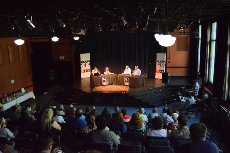 'Week in Review' kicked off its summer tour in the lovely Youngstown Cultural Arts Center in West Seattle.