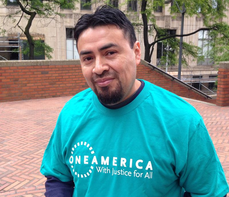 Hector Alonso, 38, says he came to the U.S. to help support his parents and seven siblings. He was 18 when he left home.