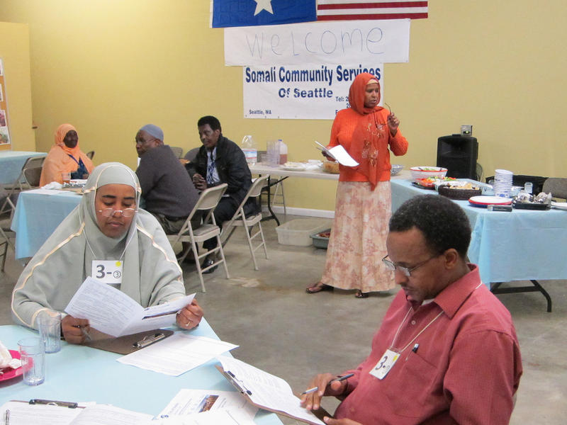 Somalis moved to Seattle in two waves -- one in the 1970s and the second after 1991. Somalia's prime minister stopped in Seattle to ask for their help.