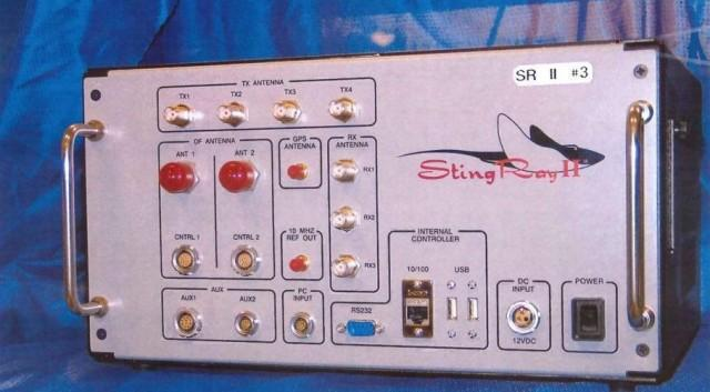 This undated handout photo provided by the U.S. Patent and Trademark Office shows the StingRay II, manufactured by Harris Corporation, of Melbourne, Fla., a cellular site simulator used for surveillance purposes.