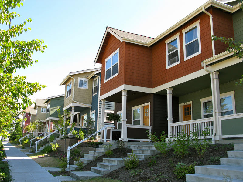 Rainier Vista townhomes near Martin Luther King Jr Way S.