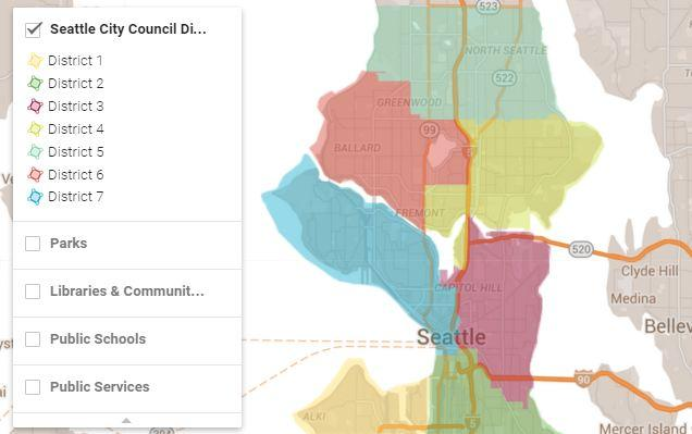 Get To Know Your New Seattle City Council District KUOW News and