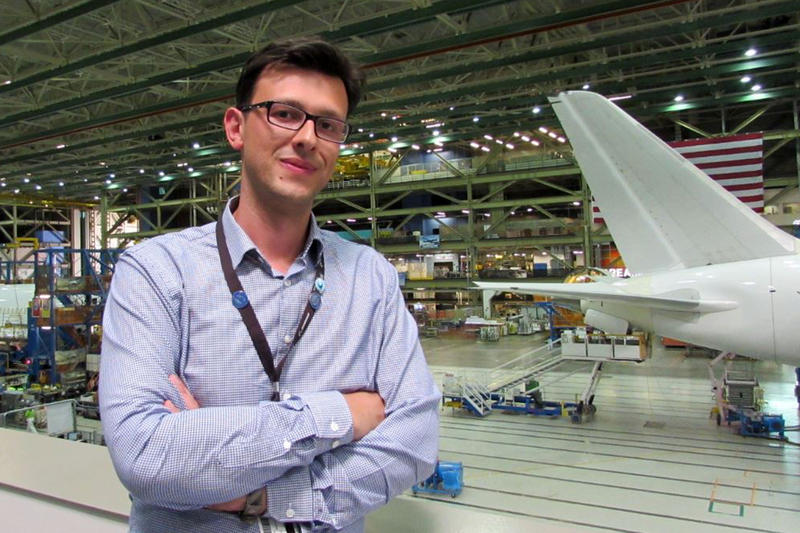 When it seemed that physical changes to the stabilizers in a stretched 787 would be too expensive, Vedad Mahmulyin started looking at a software solution.