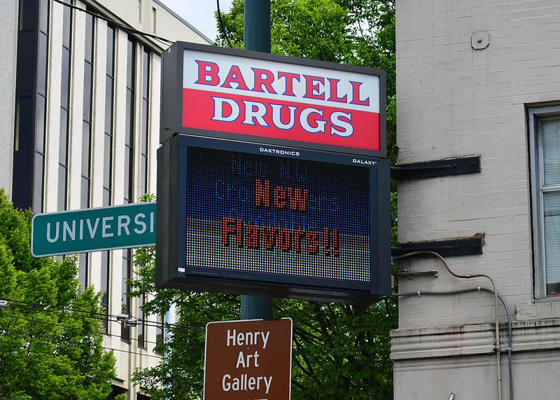 Bartell Drugs is marketing a local label.