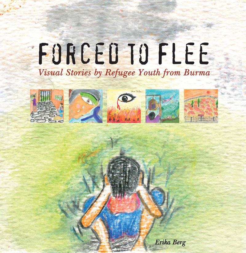 The cover of 'Forced to Flee.'