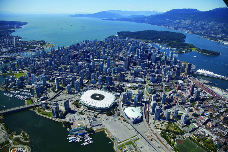 BC Place in Vancouver will host many of the Women's World Cup games, including the final on July 5.