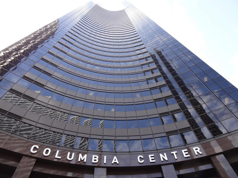 Columbia Center Tower in downtown Seattle.