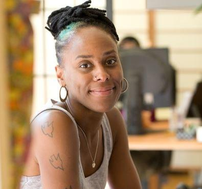 Lara Davis is the arts education manager for Seattle's Office of Arts and Culture