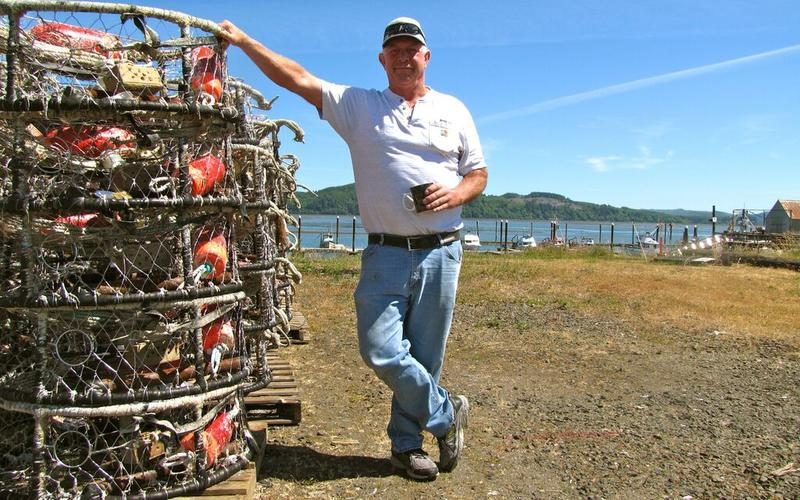 Crabber Tom Petersen would rather have his crab pots on the floor of the Pacific, but a toxic algae bloom has prompted health officials to close the south Washington coast to commercial and recreational crabbing.