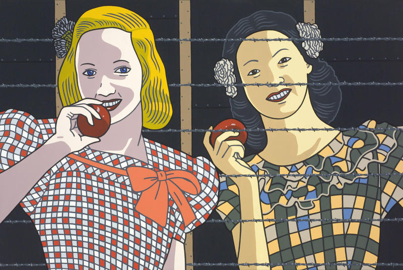 Roger Shimomura's 'Classmates'
