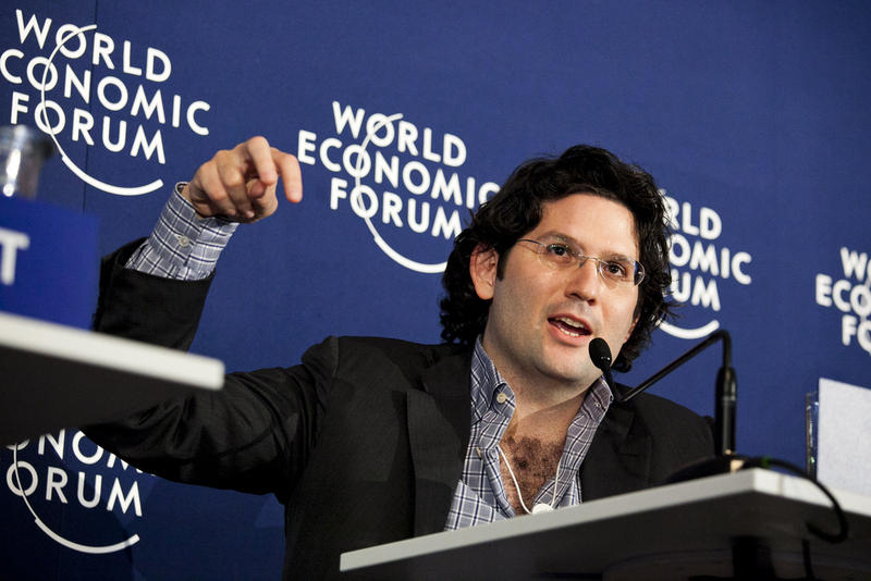 Michael Fertik at the 2011 World Economic Forum